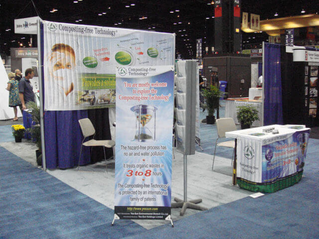 Waste Expo 2008 in Chicago, USA