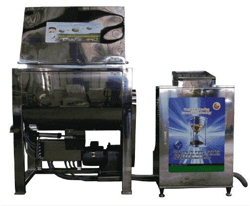 organic composting machine